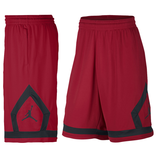 Nike Men's Jordan Fight Diamond Red Basketball Shorts