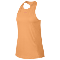 Nike Pro Mesh Tank - Women's - Orange