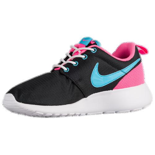 445abe8c6590 Nike Roshe One - Girls  Grade School - Running - Casual - Fuchsia Glow Fuchsia  Flash White Print