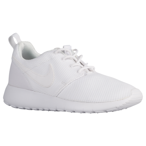 Nike Roshe One - Boys' Grade School - Casual - Shoes - White/White/Wolf Grey