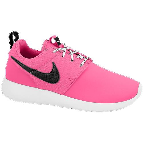 8465275208e6f Nike Roshe One - Girls  Grade School - Running - Shoes - Pink  Foil Black White