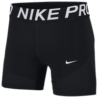"Nike Pro 5"" Shorts - Women's - Black"
