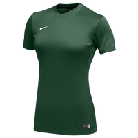 Nike Team Dry Park VI Jersey - Women's - Dark Green / White