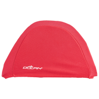 Dolfin Solid Lycra Cap - Red