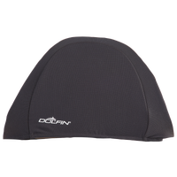 Dolfin Solid Lycra Cap - All Black / Black
