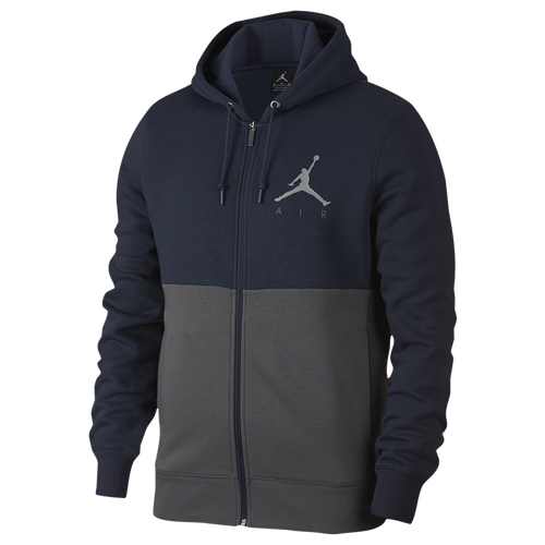 jordan jumpman air graphic full-zip hoodie - men s