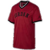d6158d7fcf0e79 Jordan Jumpman Mesh Jersey - Men s - Red   Black