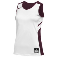 Nike Team Reversible Game Jersey - Women's - White / Cardinal