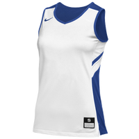 Nike Team Reversible Game Jersey - Women's - White / Blue