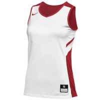 Nike Team Reversible Game Jersey - Women's - White / Red