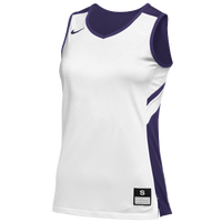 Nike Team Reversible Game Jersey - Women's - White / Purple