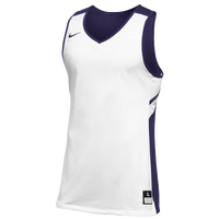 Nike Team Reversible Game Jersey - Men's - White / Purple