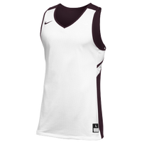 Nike Team Reversible Game Jersey - Men's - White / Maroon