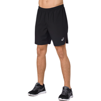 "ASICS® 7"" Silver Shorts - Men's - Black"