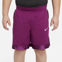 Nike Elite Stripe Shorts - Boys' Grade School - Purple