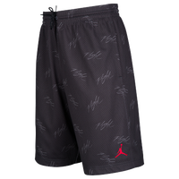 44ab0c1e3f8 Jordan Jumpman Flight GFX Mesh Shorts - Men's - Black / Grey
