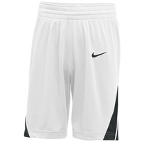 Nike Team National Shorts - Boys' Grade School - White / Black