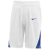 Nike Team National Shorts - Boys' Grade School - White / Blue