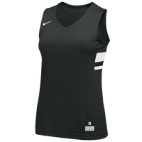 Nike Team National Jersey - Girls' Grade School - Black / White