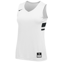 Nike Team National Jersey - Girls' Grade School - White / Black