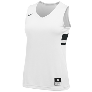 Nike Team National Jersey - Girls' Grade School - White/Black