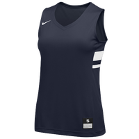 Nike Team National Jersey - Girls' Grade School - Navy / White