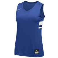 Nike Team National Jersey - Girls' Grade School - Blue / White