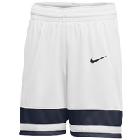 Nike Team National Shorts - Girls' Grade School - White / Navy