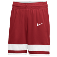 Nike Team National Shorts - Girls' Grade School - Red / White