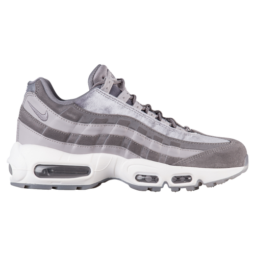 Nike Air Max 95 LX Velvet - Women's - Casual - Shoes -  Gunsmoke/Gunsmoke/Atmosphere Grey/Summit White