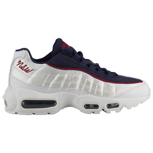 a41fc7363e Nike Air Max 95 - Women's - Casual - Shoes - White/White/Blackened ...