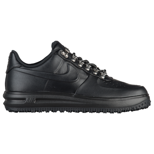 Nike Lunar Force 1 Duckboot Low - Men's - All Black / Black