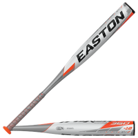 Easton SL20MX10 MAXUM 360 USSSA Baseball Bat - Grade School - White / Grey