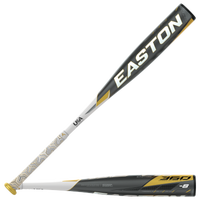 Easton YBB20AL5 ALPHA 360 USA Baseball Bat - Grade School - Black / White