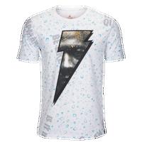 outlet store fd841 b76b9 Jordan JSW Like Mike AOP T-Shirt - Men s - White   Blue