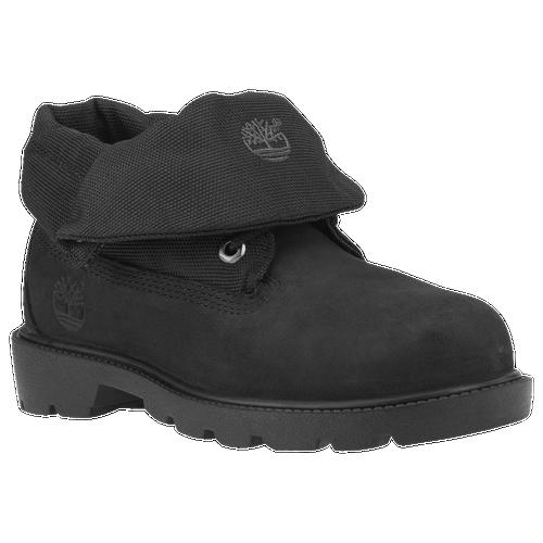 Timberland Roll Top Boots - Boys  Preschool - Casual - Shoes - Black 710fe1134d2