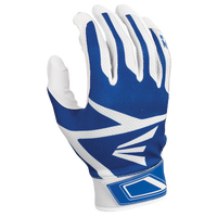 Easton Z3 Hyperskin Batting Gloves - Boys' Grade School - White / Blue