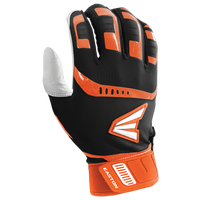 Easton Walk-Off Batting Gloves - Men's - Black / Orange