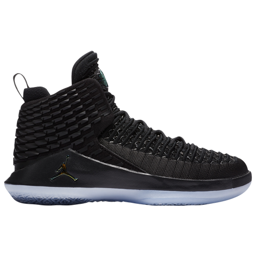 dde959e6a6abbe Jordan AJ XXXII Mid - Boys  Grade School - Basketball - Shoes -  Black Metallic Silver Multicolor