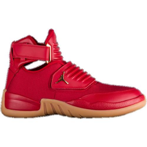 red jordan shoe
