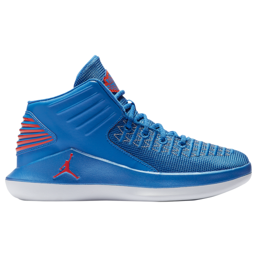 sale retailer 0dd92 d6683 Jordan AJ XXXII Mid - Boys  Preschool - Jordan - Basketball - Photo Blue Team  Orange