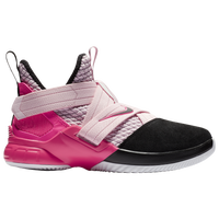 Nike LeBron Soldier XII - Boys' Grade School -  Lebron James - Pink / Black