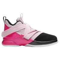 Nike LeBron Soldier XII - Boys' Preschool -  Lebron James - Pink / Black