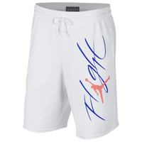 dbad79a93696 Jordan Jumpman Flight GFX Fleece Shorts - Men s - White