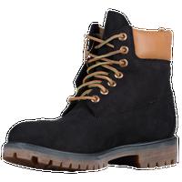 timberland 6 premium waterproof boots - men's black