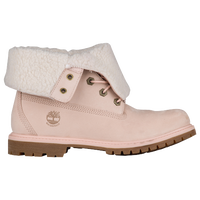 lowest price be022 0f802 Timberland Teddy Fleece Fold Down Boots - Women s - Pink   Off-White