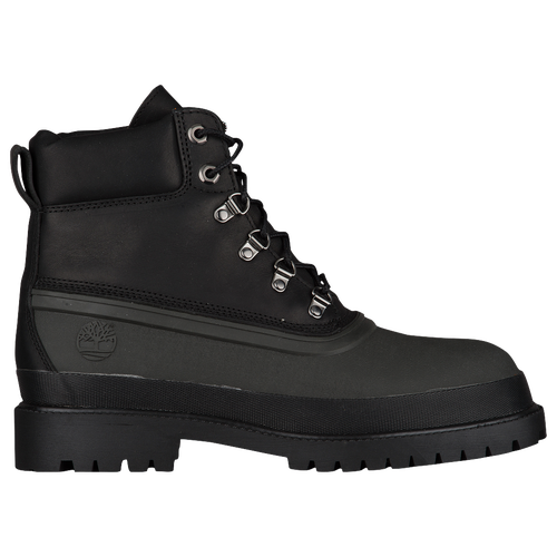 Timberland Rubber Toe Winter Boots - Men's - All Black / Black