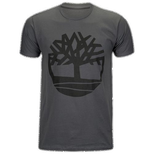 Timberland Basic Tree T-Shirt - Men's Casual - Grey A1QMA065