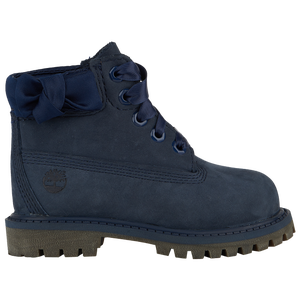 "Timberland 6"" Premium Waterproof Boots - Girls' Toddler - Navy"