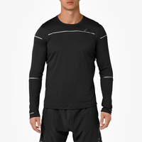 ASICS® Lite-Show Long Sleeve Top - Men's - Black